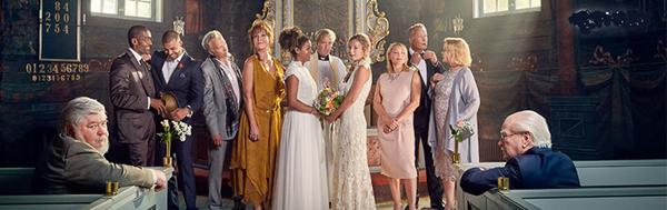 Bröllop, begravning och dop-filmen. Eftermiddagsfilm!