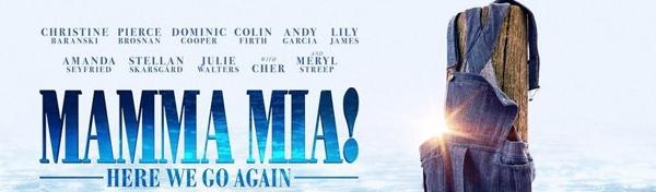 Mamma Mia! Here we go again EXTRA-VISNING!